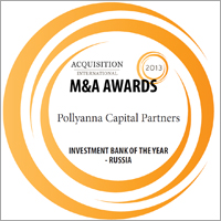 Acquisition International's M&A Awards 2013