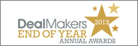 DealMakers 2013 End of Year Annual Award