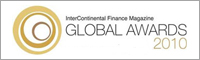 INTERCONTINENTAL FINANCE MAGAZINE — GLOBAL AWARDS 2010