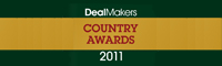 DealMakers Country Award 2011