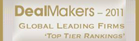 DealMakers — 2011 Global Leading Firms Top Tier Rankings