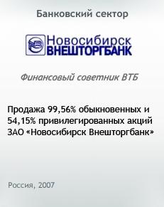 Новосибирск Внешторгбанк